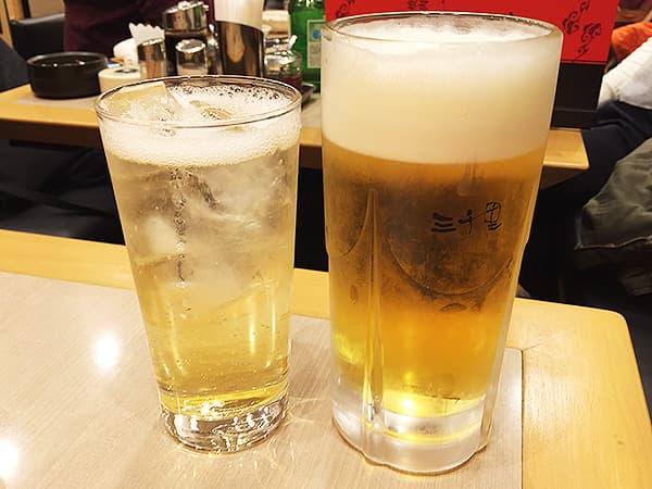 東京 錦糸町 焼肉 三千里 本店|飲み物