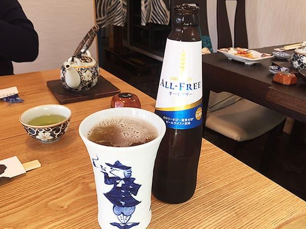 神奈川 小田原 うなぎ亭 友栄|ノンアルコールビール