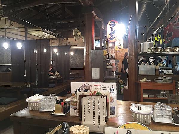 埼玉 熊谷 本家熊谷らーめん 梅丸 上之総本店|店内
