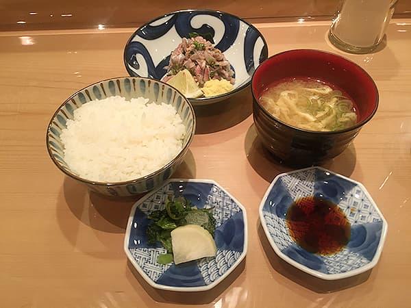 東京 新宿 新宿割烹 中嶋|刺身定食