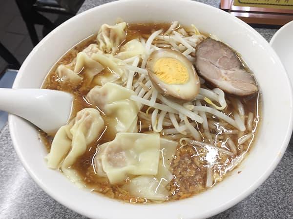 東京 渋谷 喜楽|ワンタン麺
