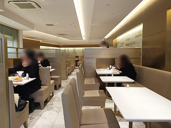 東京 渋谷 渋谷西村 フルーツパーラー 2階パーラー
