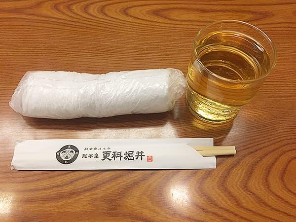 東京 麻布十番 総本家更科堀井 本店 蕎麦茶