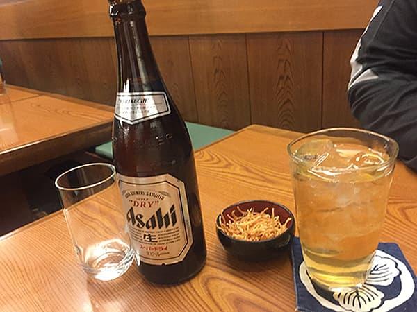 東京 麻布十番 総本家更科堀井 本店 お酒