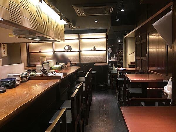 東京 銀座 俺の割烹 銀座本店|1階店内