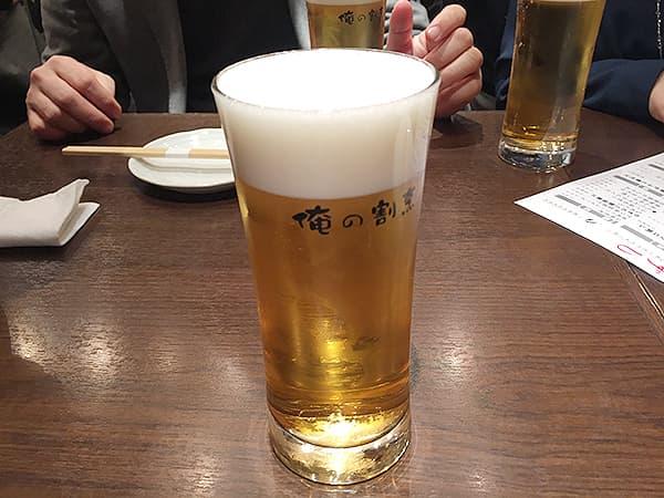 東京 銀座 俺の割烹 銀座本店|黒ラベル生