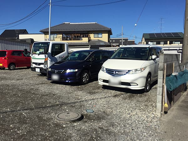 神奈川 淵野辺 貝ガラ屋|駐車場