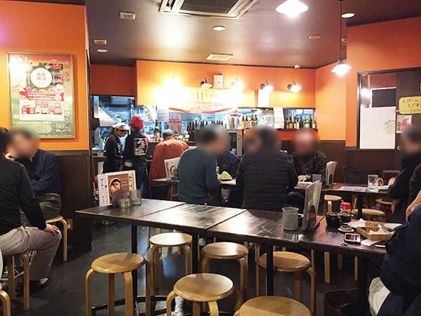 埼玉 東松山 やきとりひびき 東松山駅前本店|店内