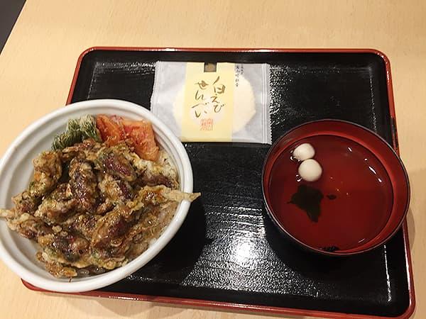 東京 丸の内 白えび亭 東京駅店|ほたるいか天丼