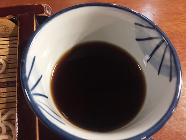 神奈川 小田原 寿庵 蕎麦つゆ