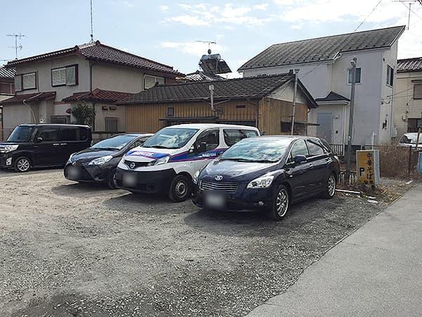 東京 八王子 みんみんラーメン 本店|駐車場