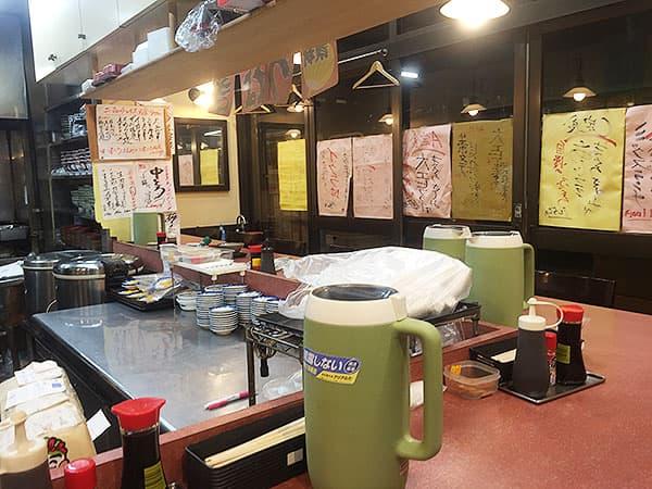 東京 大田 三洋食堂|店内