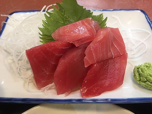 東京 大田 三洋食堂|マグロの刺身