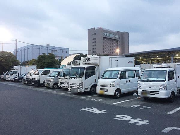 東京 大田 三洋食堂|駐車場