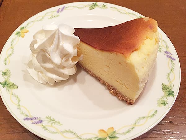 埼玉 川越 紅茶浪漫館シマ乃|ベイクドチーズケーキ