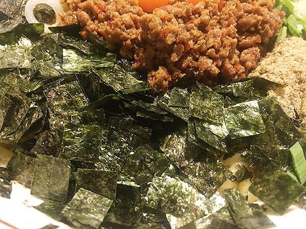 東京 練馬 麺 酒 やまの 海苔