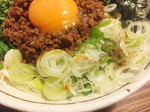 東京 練馬 麺 酒 やまの ネギ