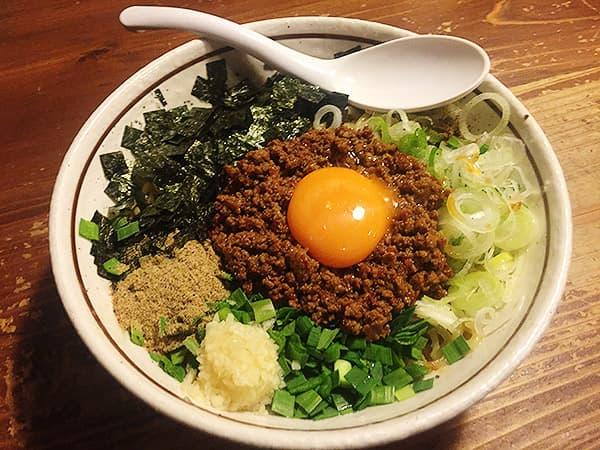 東京 練馬 麺 酒 やまの|台湾まぜそば