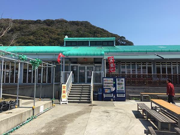 千葉 保田 漁協直営食堂 ばんや|外観