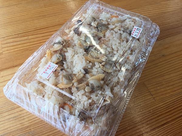 千葉 保田 漁協直営食堂 ばんや|あさりご飯