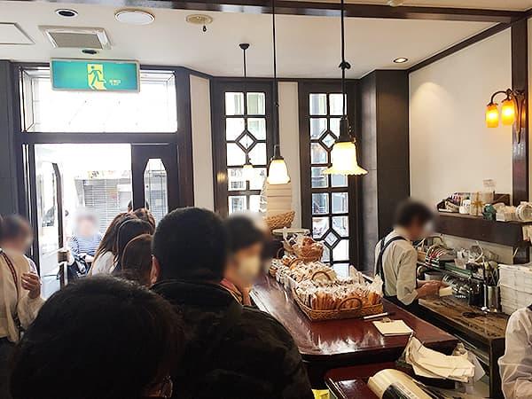 東京 赤坂 洋菓子 しろたえ 店内