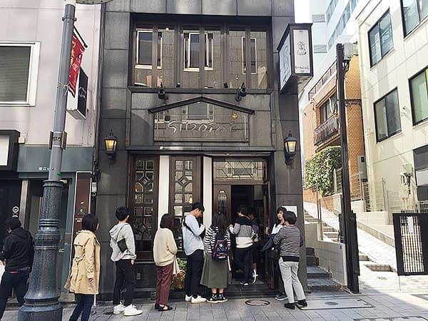 東京 赤坂 洋菓子 しろたえ 外観