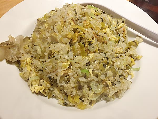 東京 赤坂 中国料理 かおたん 赤坂店 高菜炒飯