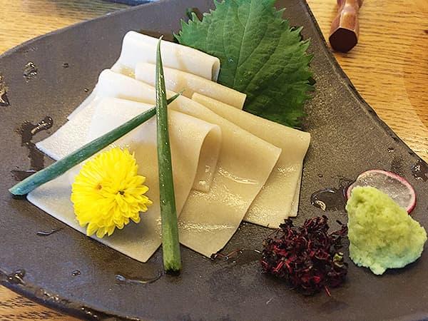 東京 大井町 そば道 東京蕎麦style 大井町本店 そばの刺身