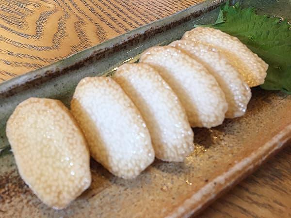 東京 大井町 そば道 東京蕎麦style 大井町本店 長芋のそばつゆ漬け