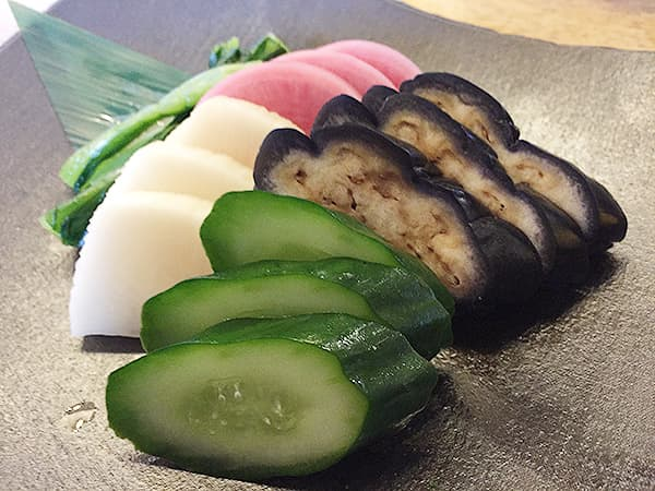 東京 大井町 そば道 東京蕎麦style 大井町本店 おしんこ盛り合わせ