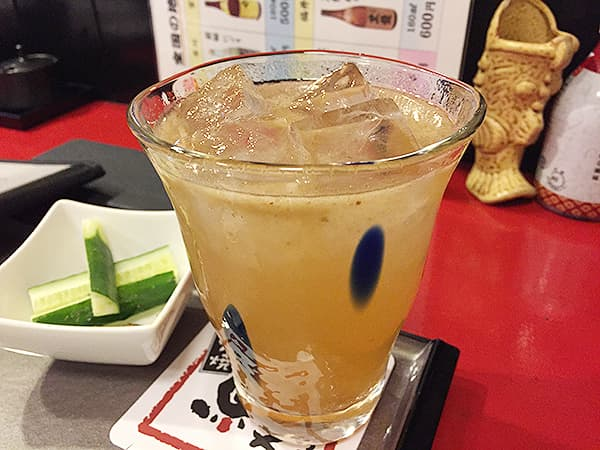 東京 大井町 三代目 むら上 大井町店|梅酒(果肉)