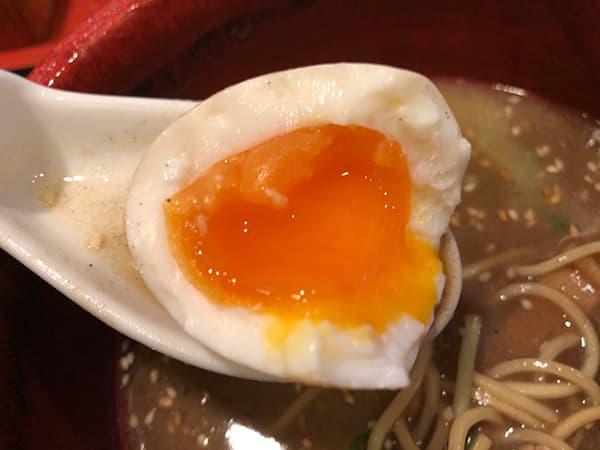 埼玉 狭山 麺屋たつみ 喜心 狭山店|味玉