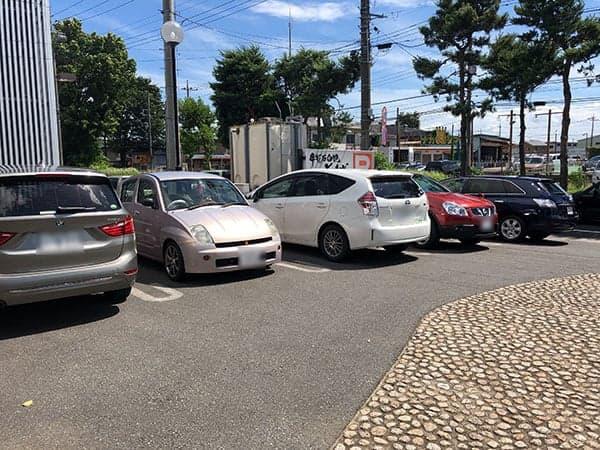 埼玉 ふじみ野 手打蕎麦ぐらの|駐車場