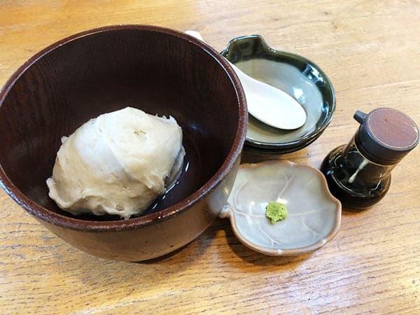 埼玉 ふじみ野 手打蕎麦ぐらの|そばがき