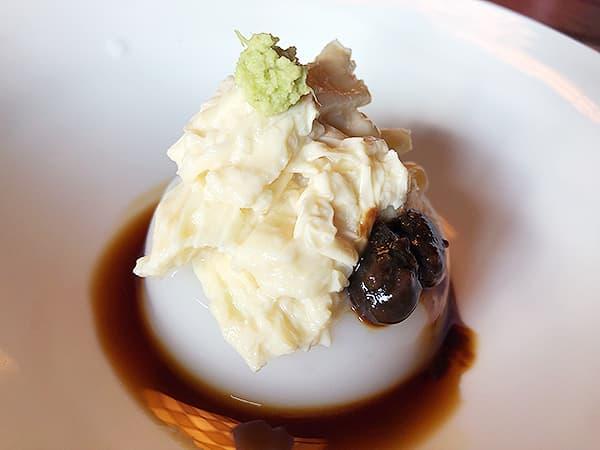 奈良 玄|蕎麦豆腐湯葉のせ