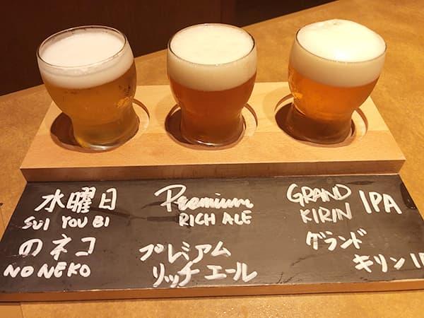 奈良 奈良市 やたがらす クラフトビール飲みくらべ