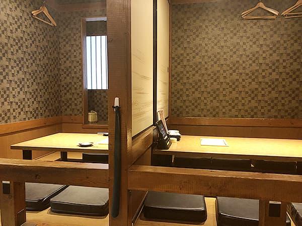 奈良 奈良市 やたがらす|テーブル席