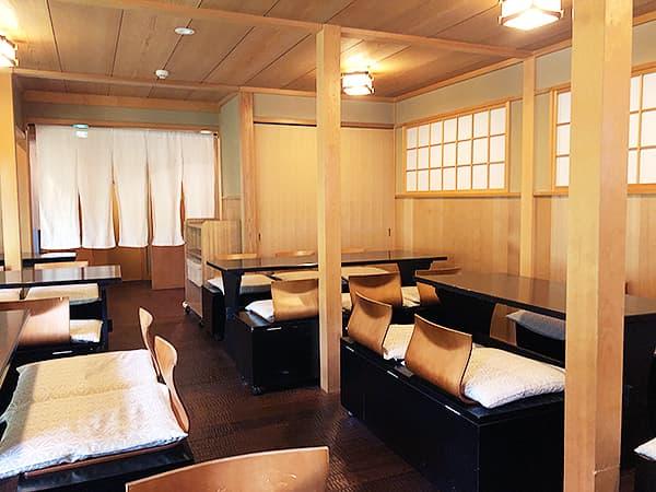 京都 南禅寺 瓢亭 別館|店内