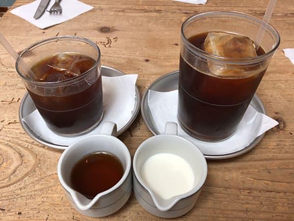 京都 右京区 嵯峨野湯|アイスコーヒー