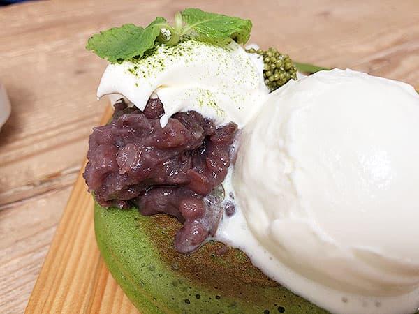 京都 右京区 嵯峨野湯|小豆とホイップクリーム
