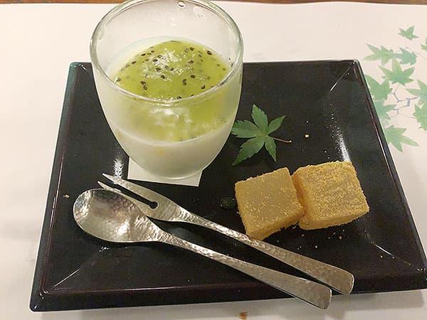 京都 右京区 高雄 錦水亭 季節のフルーツ