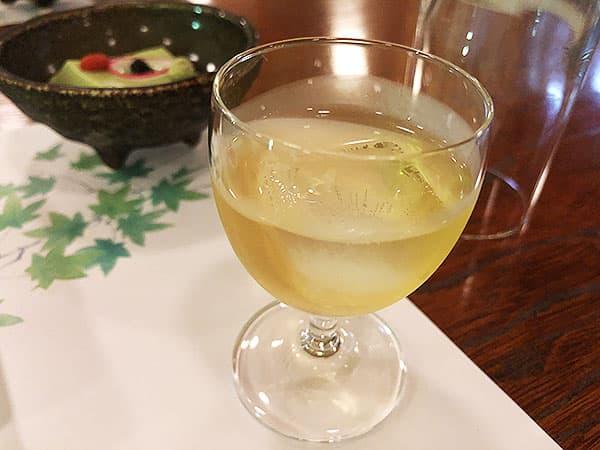京都 右京区 高雄 錦水亭 食前酒