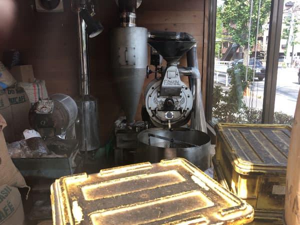 京都 右京区 ヤマモト|焙煎小屋
