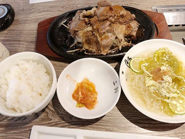 愛知 名古屋 A5焼肉&手打ち冷麺 二郎|A5焼肉定食&二郎冷麺Sサイズ