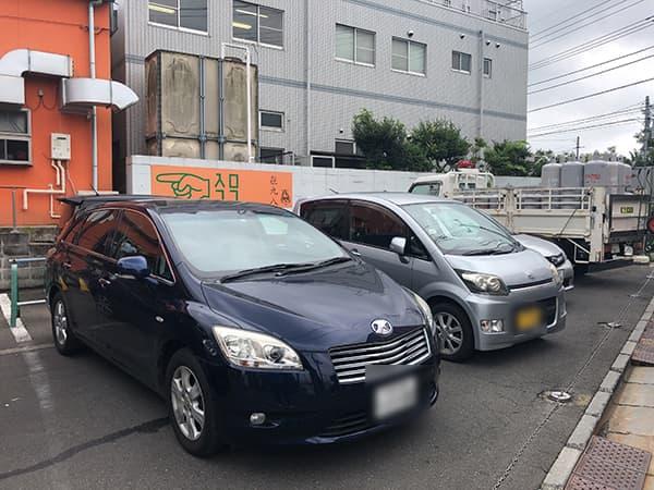 埼玉 所沢 㐂九八(キクヤ~garage~)|駐車場