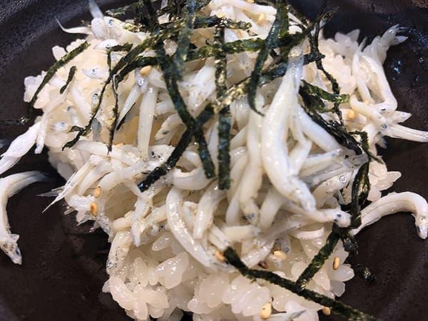埼玉 所沢 㐂九八(キクヤ~garage~)|しらす飯