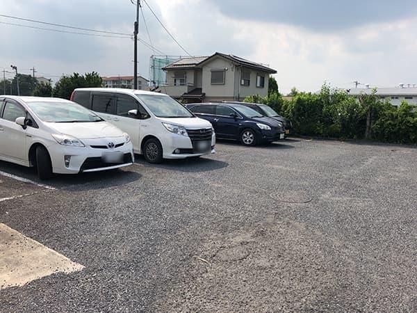 埼玉 狭山 嘉藤|駐車場