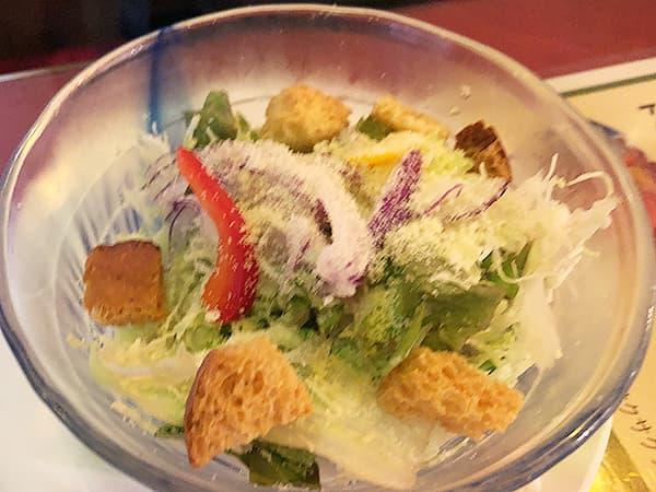 群馬 高崎 G.G.C. 高崎本店 シーザーサラダ