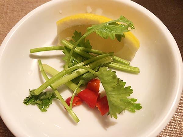 東京 池袋 サイゴン・レストラン|薬味