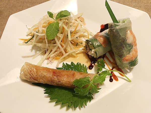 東京 池袋 サイゴン・レストラン|前菜3種